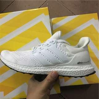 全新正品Adidas Ultra Boost Shoes 3.0 編織 透氣 跑鞋 爆米花 愛迪達鞋子情侶鞋 三葉草 走路鞋 慢跑鞋 size 36-44