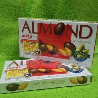 Meiji almond