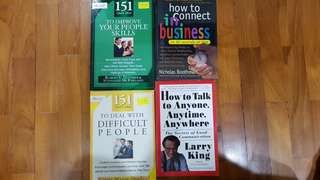 🚚 CONNECT IN BUSINESS SERIES ALL BOOKS MUST GO