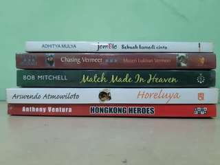 Novel 10rb an per novel. Sale