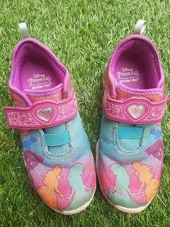 Stride Rite x Disney vibrant color shoes