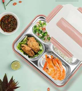 LUNCH BOX TRAY SET SPOON