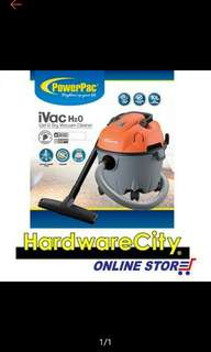 🔥3-4days FREE DELIVERY🔥Powerpac iVac H20 Wet and Dry Vacuum Cleaner