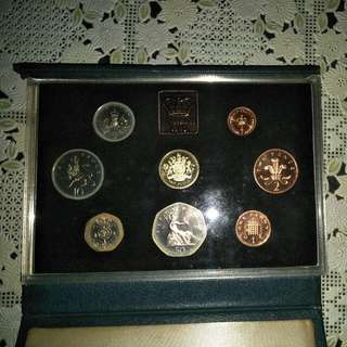United Kingdom Proof Coin Collection 1983 Royal Mint