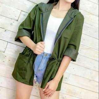 Army Green Parka