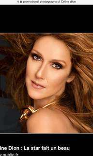 CAT A Sect 104 Row S CELINE DION LIVE IN SPORE 2018 @TUES 03/07/18 @8pm MarinaSands Grand Ballroom