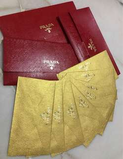 Prada gold packet