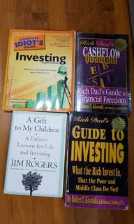 🚚 INVESTING ALL BOOKS MUST GO