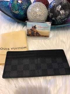 Louis Vuitton Passcase Damier Graphite