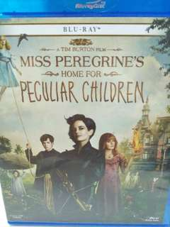 Miss peregrine's home for peculiar children movie Blu-ray