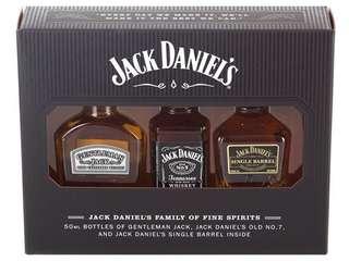 威士忌酒辦50mlx3支禮盒套裝。不散賣。