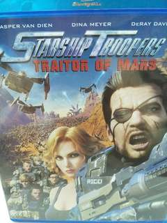 Starship troopers traitor of mars movie Blu-ray