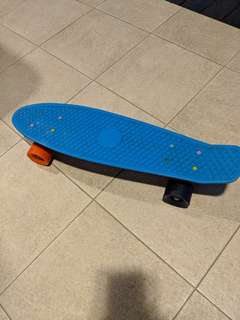 OFFICIAL 22 in PENNY BOARD, RAINBOW BACKING, CUSTOMIZED TRUCKS