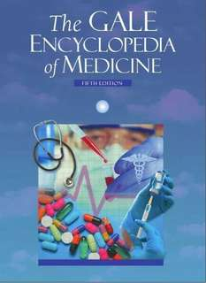 CD E-BOOK The Gale Encyclopedia of Medicine ( 9 Volume Set )