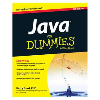 Java For Dummies 6th Edition by Barry A. Burd [eBook]