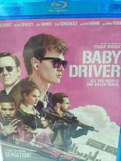 Baby driver movie Blu-ray