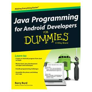 Java Programming for Android Developers For Dummies 1st Edition by Barry A. Burd [eBook]