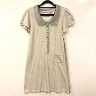 TC gray with silver polo dress size 2