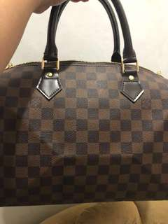 Preloved LV Speedy 30 Damier Ebene