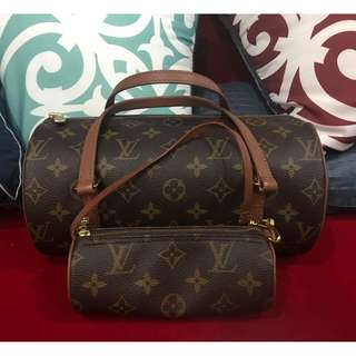 LV Papillon Authentic