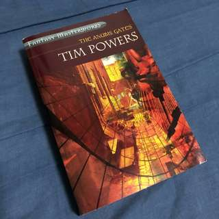 The Anubis Gates by Tim Powers Novel book (Fantasy, Steampunk)