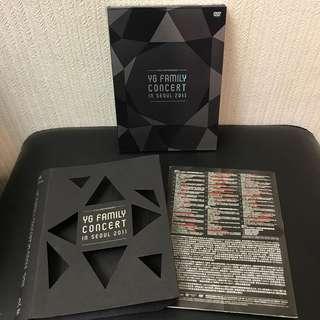 YG Family 2011 15周年演唱會首爾場DVD