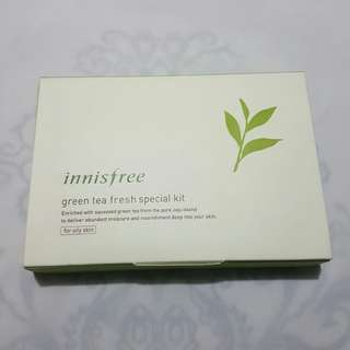 Innisfree Green Tea Fresh Special Kit (New)