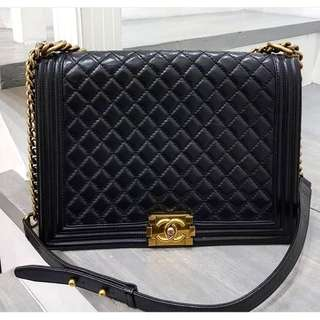 Authentic Chanel Leboy large bag