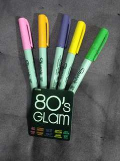 Sharpie 80's GLAM ultra fine permanent marker (LIMITED EDITION)