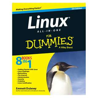 Linux All-in-One For Dummies 5th Edition by Emmett Dulaney [eBook]