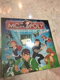 Monopoly Junior Ben10