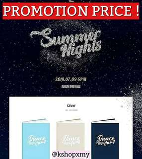[PROMO PRICE] TWICE 2nd Mini Album - ' Summer Night '