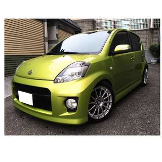 2009年-大發-SIRION西利旺(日式小車)『輕鬆低月付』怎麼輕鬆貸.讓我來幫你!