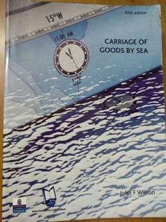 Carriage of Goods by Sea - John F Wilson