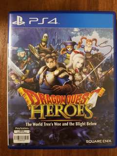 DRAGON QUEST HEROES WORLD TREE WOE PS4