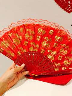 Chinese Wedding Fan