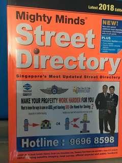 Singapore 2018 street directory