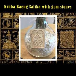 Kruba Baeng Salika with gem