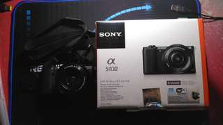 KAMERA MIRRORLESS SONY A5100 Kit 16-50mm f/ 3.5-5.6 OSS