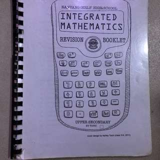 NYGH integrated mathematics revision booklet