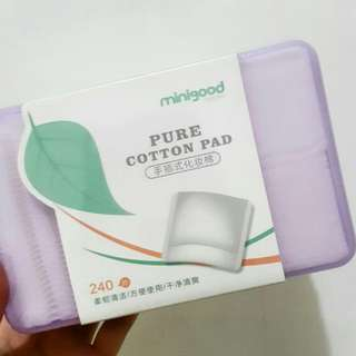 Kapas cotton pad Minigood mini good Korea dupe klairs