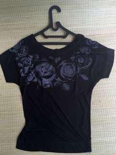Topshot black shirt