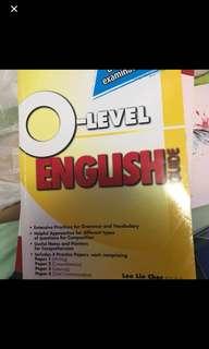 O level English Exercise Book