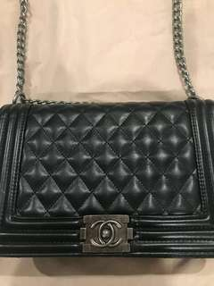 Chanel Le boy (replica) aaa quality - genuine leather
