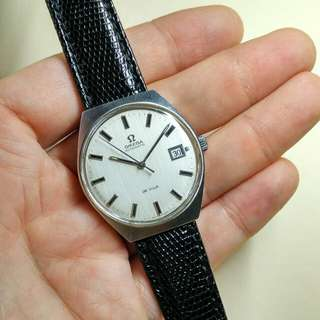 Vintage OMEGA in Leather Strap