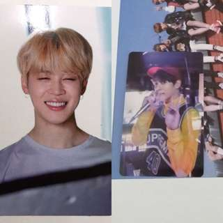 [WTT/WTB] BTS Memories of 2017 Jimin Jungkook Photocard