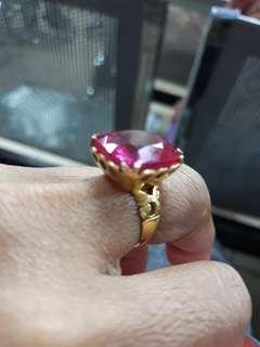 """Cincin Permata Ruby(saiz 10"""")"""