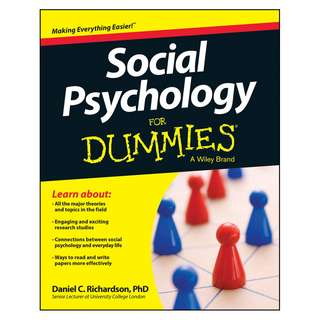 Social Psychology For Dummies by Daniel Richardson [eBook]