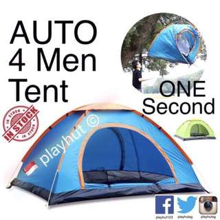 Automatic 4 Man Tent