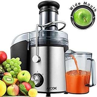 Aicok 800W Juice Extractor!!